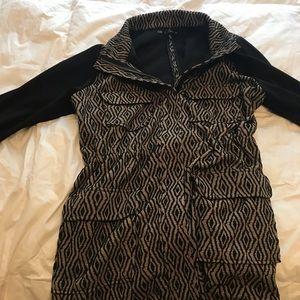 Maurice's Patterned lightweight jacket